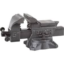 6 Inch Bench Vise Klutch Heavy Duty Bench Vise U2014 5in Jaw Width Bench Vises