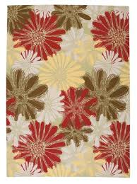 Floral Pattern Rugs Jaipur Rugs Transitional Floral Pattern Blue Multi Wool Area Rug