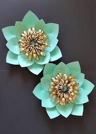 mint green flowers paper flower backdrop set of 2 flowers in mint green and
