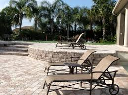 Stone Decks And Patios by Orlando Pavers Patios Stone Decks Driveways Outdoor