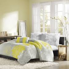 yellow and gray bedding yellow and grey bedding fel com decorate