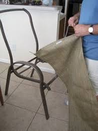 Repair Webbing On Patio Chair Replacing The Fabric On Sling Chairs House Ideas Pinterest