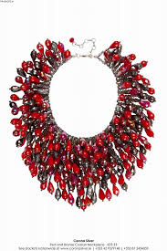 fashion jewelry red necklace images Corona silver necklaces contemporary fashion necklaces jpg
