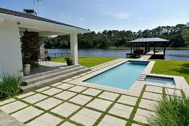 poolside designs custom pools modern pool jacksonville by poolside designs