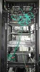 armadi rack usati armadio rack server apc 48 unita netshelter informatica in