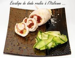 comment cuisiner des escalopes de dinde recette escalope de dinde roulée à l italienne la recette facile