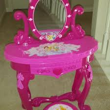 Disney Princess Vanity And Stool Find More Disney Princess Sparkling Light U0026 Sound Vanity With