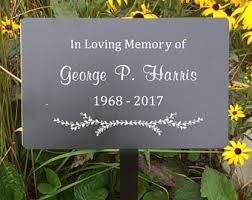 memorial plaques memorial plaque etsy