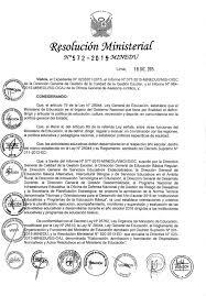 199 2015 minedu matriz de norma técnica de orientaciones para el año escolar 2016 en educación