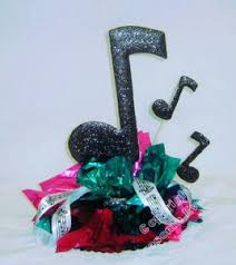 music theme party centerpiece ideas  awesome events blog with simple music theme party centerpiece idea  from awesomeeventcom