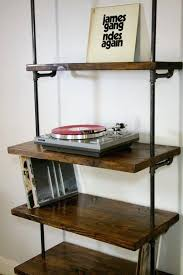 Vinyl Record Storage Cabinet Vinyl Record Storage Cabinet Industrial Record Shelving Unit