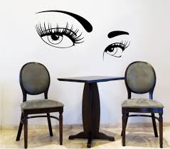 compare prices on salon wall decal online shopping buy low price sexy women eyes wall sticker bedroom living room home decor beauty salon barbershop wall