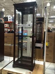 pulaski curio cabinet costco pulaski display cabinet costcochaser