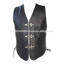 mens leather motorcycle vest embroider patches leather vest biker embroidered patches biker
