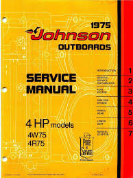 1975 johnson 4hp outboards service manual pdf carburetor valve