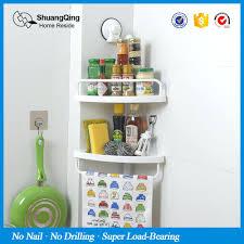 Acrylic Bathroom Shelves by Bathroom Corner Shelves Plastic Adjustable Telescopic Shower Shelf