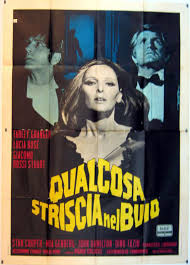 Something creeping in the dark(1971) Qualcosa striscia nel buio