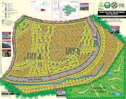 Islamabad Map Dha Valley Lily Block Islamabad Property Maps