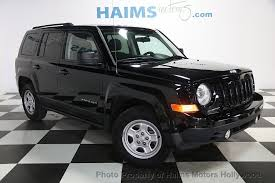 the jeep patriot 2013 used jeep patriot fwd 4dr sport at haims motors serving fort