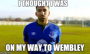 Everton Memes - a couple of amusing aaron lennon memes 101 great goals com