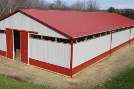 Red Barn Doors by Pole Barn Doors And Windows Pole Barns Direct