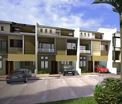 marvelous 2 storey townhouse plans 1 town house perspective