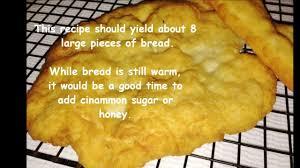 cherokee fry bread recipe youtube