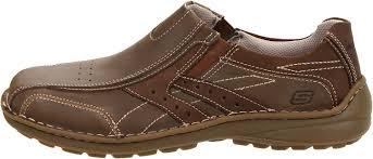 skechers u0027s go walk shoes black skechers men u0027s leather slip on