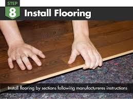 how to install felt cushion 3 in 1 underlayment