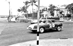vintage alfa romeo race cars stock cars and sports cars race on the streets of old havana the