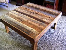 How To Make Reclaimed Wood Coffee Table Reclaimed Wood Square Coffee Table Decor Homes How To Make