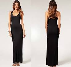 black maxi dress racerback maxi dress black all women dresses