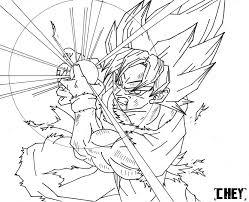dragon ball z coloring pages goku bebo pandco