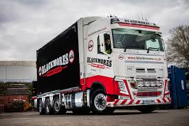 new volvo commercial blackmores machinery haulage have taken delivery of this volvo fh