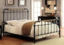 American Woodcrafters Riana Metal Bed Beds Bedroom Furniture Bedroom