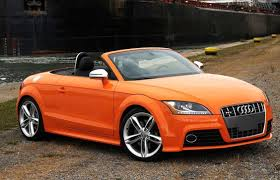 audi orange color audi tts convertible orange color best car image
