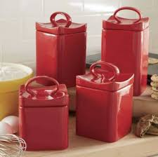 ceramic red kitchen canister set choosing the best kitchen
