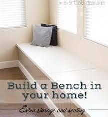 Diy Storage Bench Seat Plans by Long Storage Bench Plans Google Search Diy Furniture