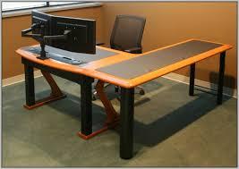 computer desk for 2 monitors desk 2 monitors computer desk for two monitors decoration ideas