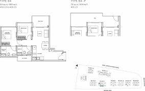 the glades condo floor plan u2013 2br suite u2013 b4 u2013 64 sqm 689 sqft b4