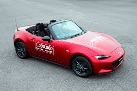 mazda 1 2016 mazda rolls out 1 millionth mx 5 roadster