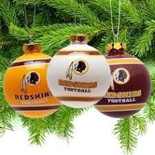 a few awesome vintage redskins ornaments football season