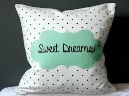 Nursery Decorative Pillows Sweet Dreams Nursery Decorative Pillow Organic Cotton Cushion