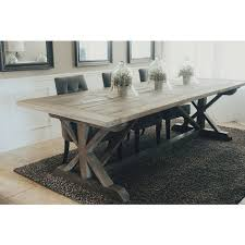 Crate And Barrel Farmhouse Table Table Basque Grey Wash Dining Tables Crate And Barrel Pertaining
