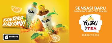 Teh Yuzu ingin minuman segar bergizi teh rasa buah citrus yuzu aja