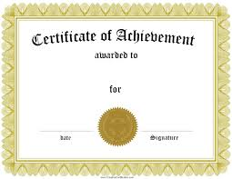 Printable Halloween Certificates Free Customizable Certificate Of Achievement