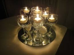 Cheap Candle Vases Floating Candles In Wine Glasses Update With Photos Wedding