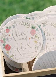 ceremony fans best 25 diy wedding fans ideas on