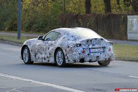 toyota supra 2018 toyota supra latest spy shots with production body gtspirit
