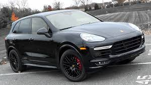 porsche suv 2015 2016 porsche cayenne gts review youtube